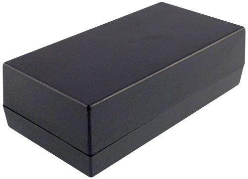 Krabička plastová kP35A 32x54x105mm černá (Z7A)