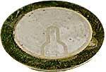 Piezoměnič pr. 27mm samovybuzovací (tři vývody)