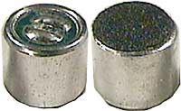 Mikrofon elektretový 6x5mm U=2-10V