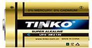Baterie TINKO 1,5V C(LR14) alkalická, baleno v blistru