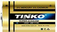Baterie TINKO 1,5V D(LR20) alkalická, baleno v blistru