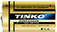 Baterie TINKO D(R20) alkalická-blistr