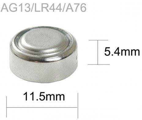 Baterie TINKO LR44 (AG13,357A) alkalická (LR1154,GP357), MJ=1ks