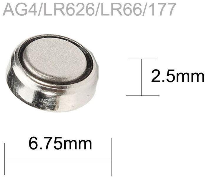 Baterie TINKO LR66(AG4,377X,SR626SW,LR626) alkalická