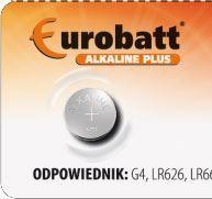 Baterie EUROBATT LR66(AG4,377X,SR626SW,LR626) alkalická