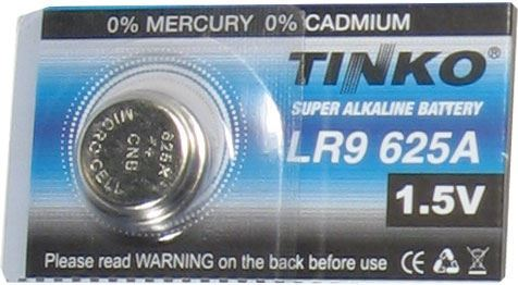 Baterie TINKO LR9(GP625) alkalická