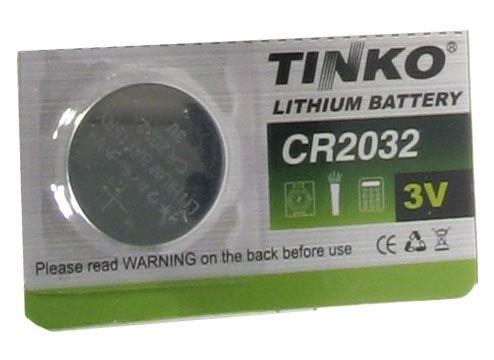 Baterie TINKO CR2032 3V lithiová, MJ=1ks