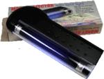 Tester bankovek s UV zářivkou 4W - napájení 4xR6 baterie