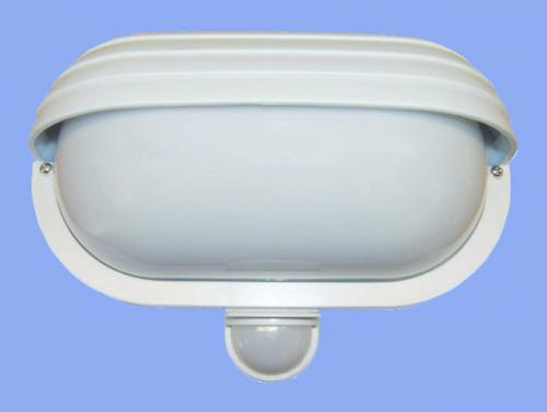 Svítidlo s pohybovým spínačem Oval PIR - bílá