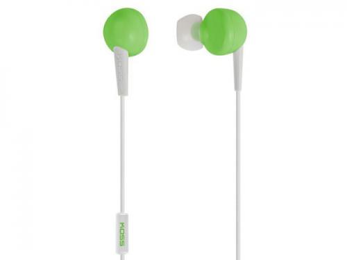 Sluchátka KOSS KEB/6i zelená (Green)