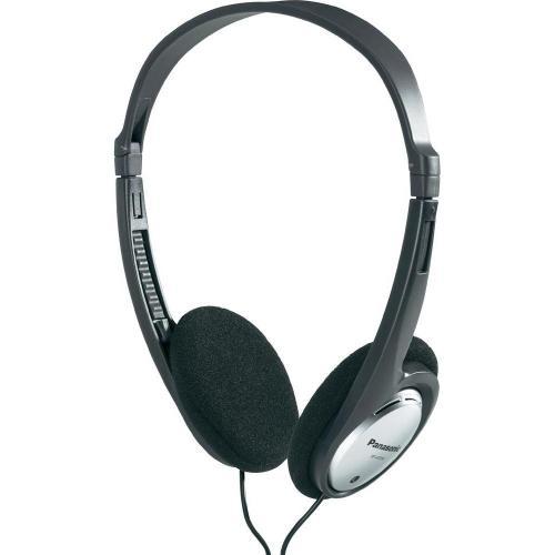 Sluchátka Panasonic RP-HT030 HT030E-S, černá, stříbrná