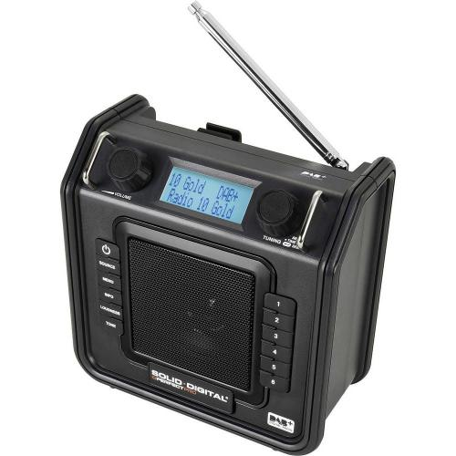 Outdoorové DAB+ rádio PerfectPro Soliddigital, SD1, FM