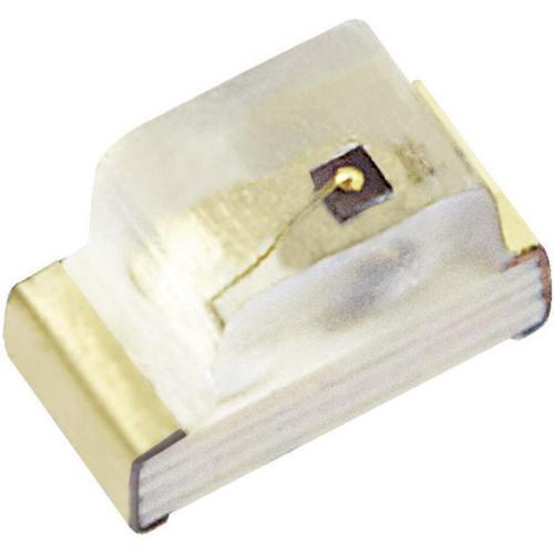 SMD LED Kingbright, KP-1608QBC-D, 20 mA, 3,3 V, 120 °, 100 mcd, modrá