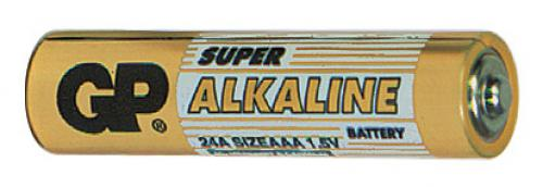 Baterie GP Super Alkaline LR03 (AAA, mikrotužka)