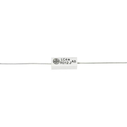 Rezistor, 0,015 Ω, 5 %, axiální vývody, 4 W, 5 %
