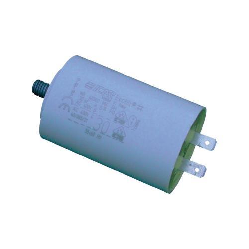 Motorový MKP kondezátor WB4080/A, 8 µF, 450 V/AC, 5 %, 71 x 30 mm, plast