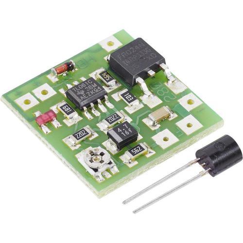 SMD tepelný spínač, 9 - 15 V/DC, -10 až 100 °C (modul)
