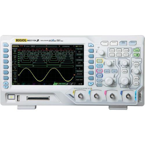 Digitální osciloskop Rigol MSO1074Z-S, 70 MHz, 20kanálový