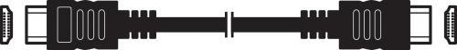 HDMI kabel pro AV signál v digitální kvalitě 3m