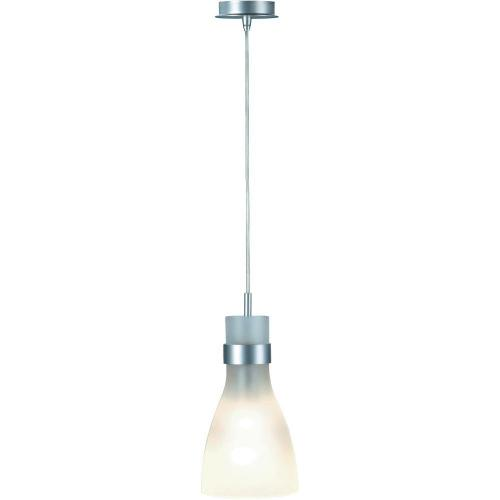 Závěsné svítidlo SLV Biba III, 133464, 60 W, E14, stříbrná