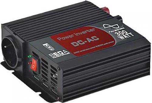 Měnič 12/230V 300W (600W) - čistá sinusovka