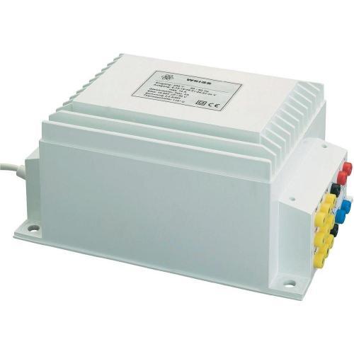 Experimentální transformátor Weiss NGE200, 200 VA/AC, 160 W/DC