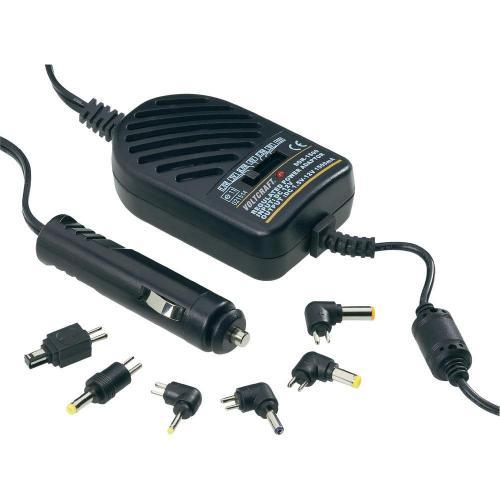 DC/DC měnič do auta s redukcemi Voltcraft SMP-20A, 12 V / 1,5-12 V, 18 W