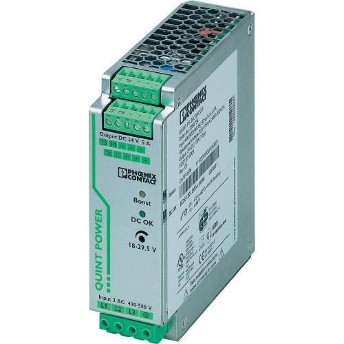 Zdroj na DIN lištu Phoenix Contact QUINT-PS/3AC/24DC/5, 5 A, 24 V/DC