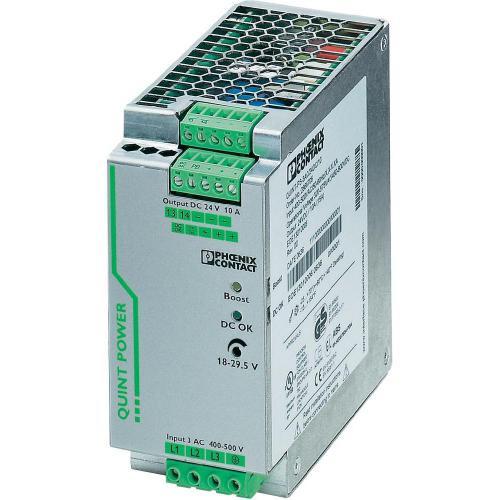 Zdroj na DIN lištu Phoenix Contact QUINT-PS/3AC/24DC/10, 10 A, 24 V/DC