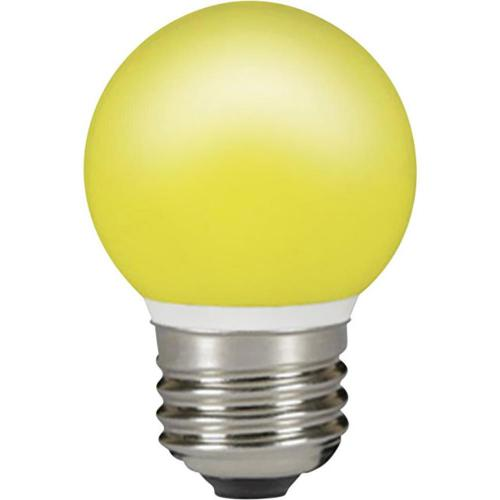 LED Sylvania 230 V, E27, 0.5 W, 70 mm, žlutá 1 ks