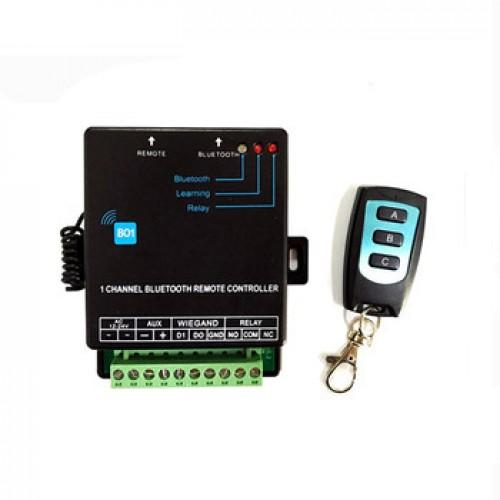 2,4GHz Bluetooth, 433MHz relé ovládací základna Homelux HX-BO1, WG26 , 2x relé ,