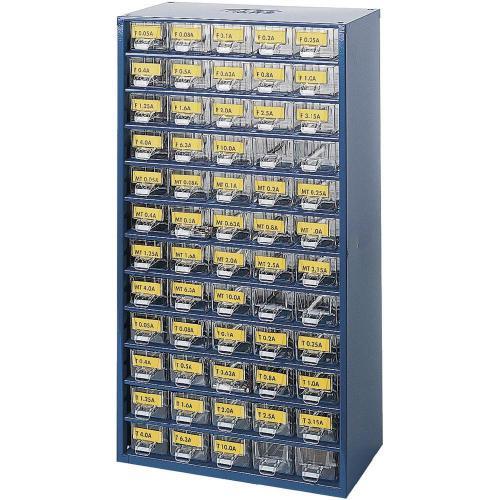 Sada trubičkových pojistek v dílenském zásobníku (Ø x d) 5 mm x 20 mm, 540 kusů