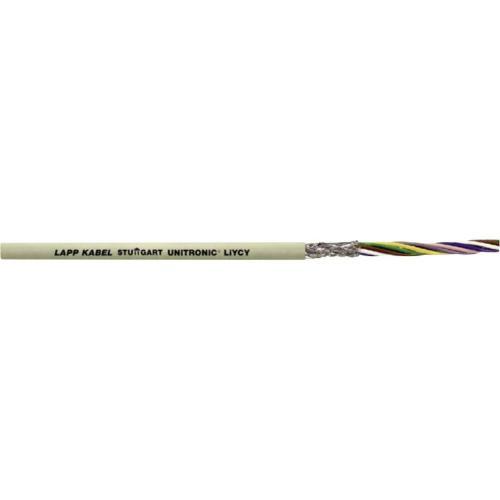 Datový kabel UNITRONIC® LiYCY LAPP 0034602, 2 x 0.50 mm², šedá, metrové zboží
