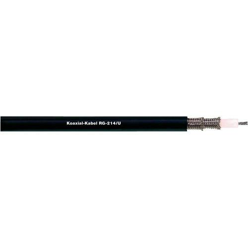 Koaxiální kabel LappKabel RG 62 A/U (2170008), stíněný, 1 m, černá