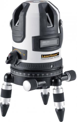 Samonivelační křížový laser Laserliner PowerCross-Laser 5G, dosah (max.): 40 m, Kalibrováno dle: bez certifikátu