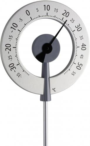 Teploměr TFA Lollipop 12.2055.10, stříbrná
