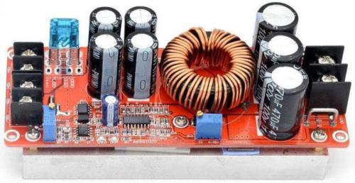 Napájecí modul, step-up měnič CV/CC 1200W