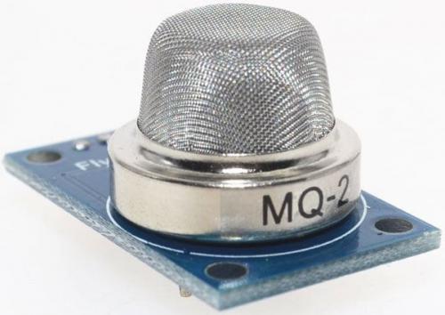 Detektor hořlavých plynů, modul s čidlem MQ-2