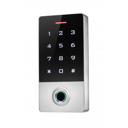 Biometrická přístupová autonomní čtečka s klávesnicí, TF1
