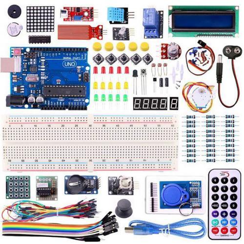 Arduino Upgraded Learning Kit - Vývojový starter kit UNO R3