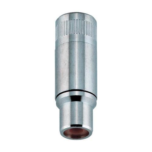 Cinch konektor BKL Electronic 072212 Pólů: 2, zásuvka, rovná, stříbrná, 1 ks