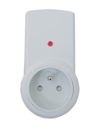 Dálkově ovládaná bezdrátová zásuvka TA Receiver (samostatná zásuvka - přijímač)