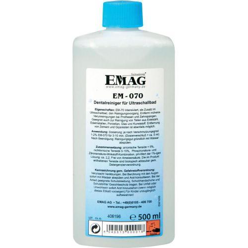 Dentální čistič pro zubní protézy a rovnátka Emag EM070, 0,5 l