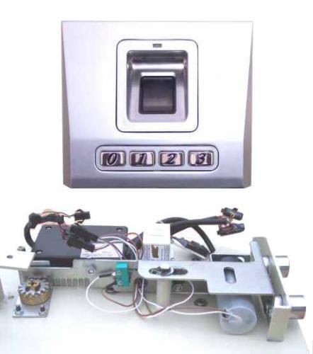 Modul biometrické jednotky snímače otisku prstu a zámku + motor