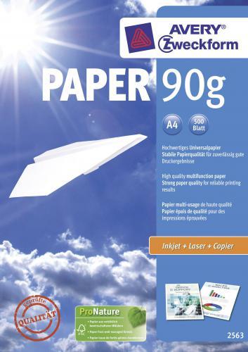 Avery papír 2563 A4,90G,500 listu
