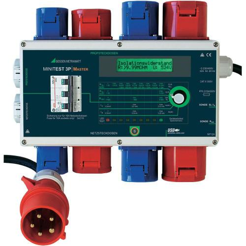 Tester spotřebičů Gossen Metrawatt Minitest 3P Master, M712X