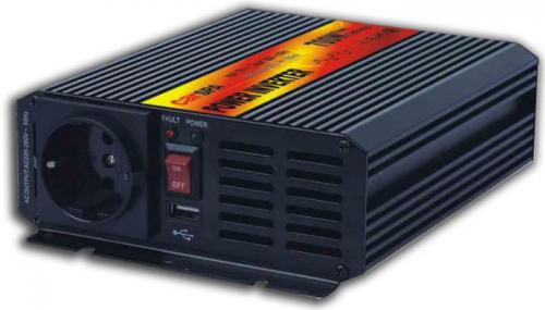 Měnič 12V/230V 700W,modifikovaná sinusovka,CARSPA