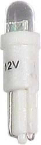 Žárovka LED T5 12V/0,25W bílá
