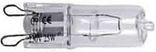 Žárovka halogen 230V/25W,patice G9,čirá