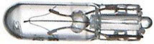 Žárovka 12V/1,2W W2x4,6D (T5) celoskleněná